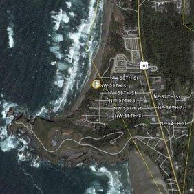 58010: AGATE BEACH/OREGON COAST, OR 0.11 ACRE