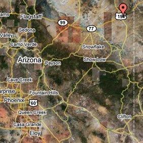 60024: PAINTED DESERT, NE ARIZONA 1.05 ACRES