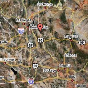 62001: EAST OF DOLAN SPRINGS, ARIZONA 1.05 Acres