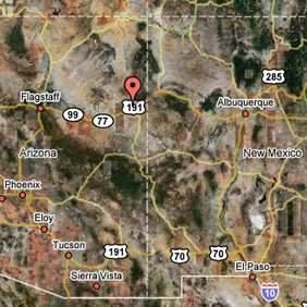 SANDERS, ARIZONA 1.27 Acres