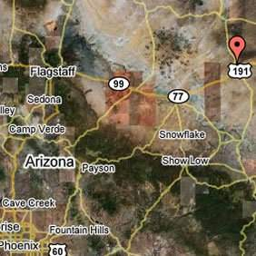 NORTH CHAMBERS/HWY 191, ARIZONA 1.05 Acres
