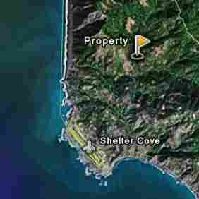 SHELTER COVE, NOTHERN CALIFORNIA 0.33 Acre
