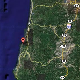 56004: COOS BAY, OREGON 2500 SQ. FT. LOT