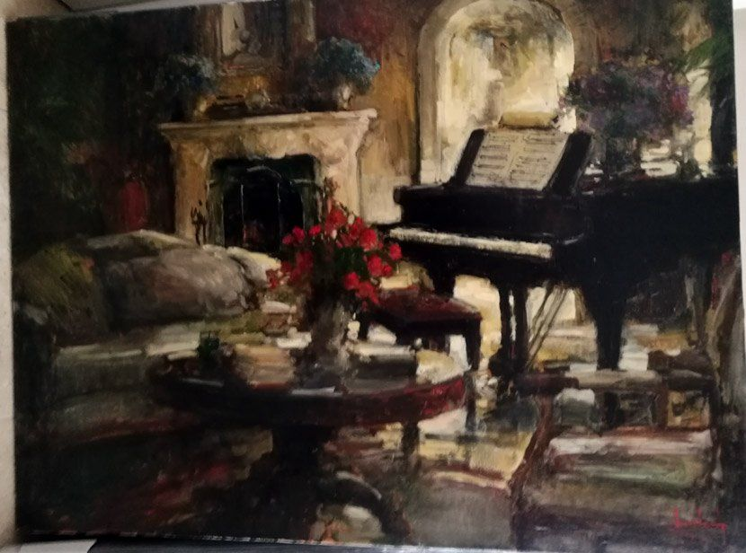 Stephen Shortridge Original oil on canvas hand signed
