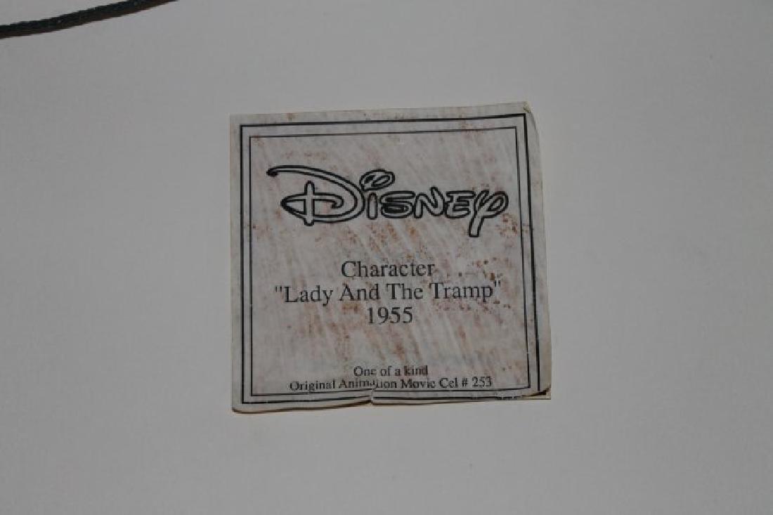 Disney Original Production cel Lady & Tramp 1955 rare - 3