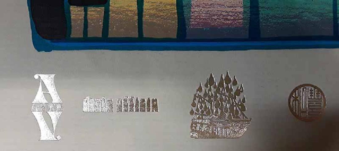 "Friedensreich Hundertwasser ""Hommage à - 2"