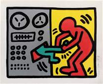 HARING KEITH POP SHOP III 1 HSN SCREENPRINT 1989