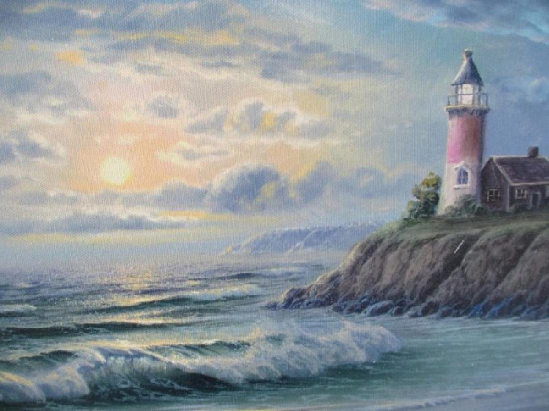 """Maurice Meyer """"The Old Light House"""" HS/N Emb. Giclee"""