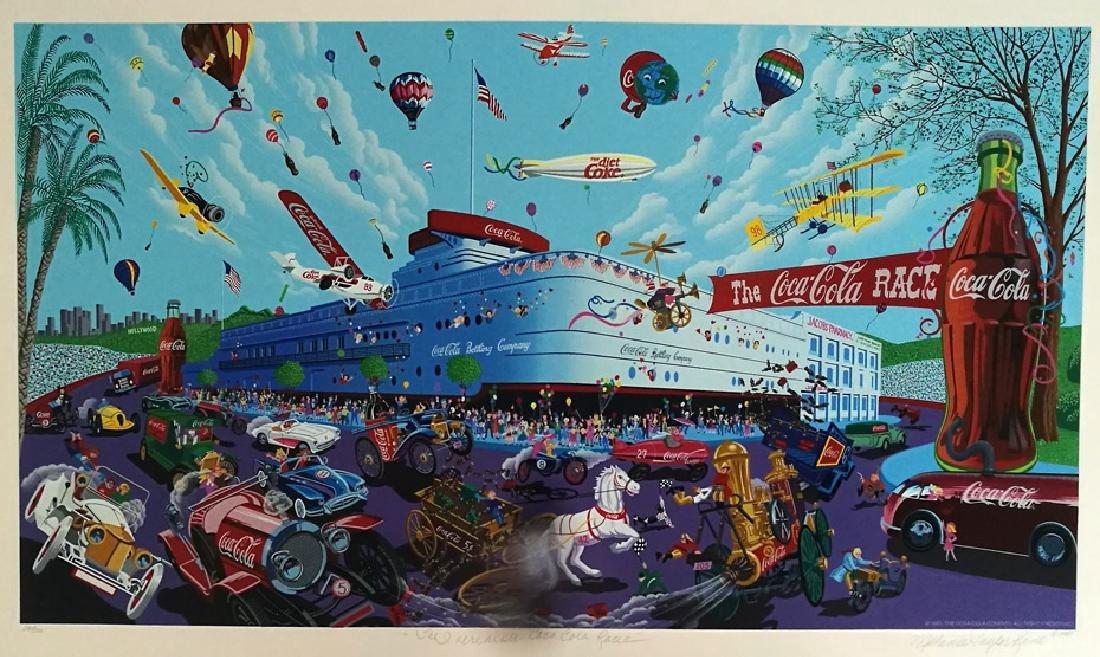"Melanie Taylor Kent ""The Incredible Coca-Cola Race"""