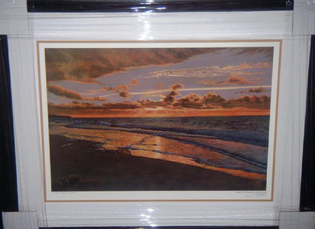 Norman Gautreau Frmd Sunset at Nail Pond Prince Edward