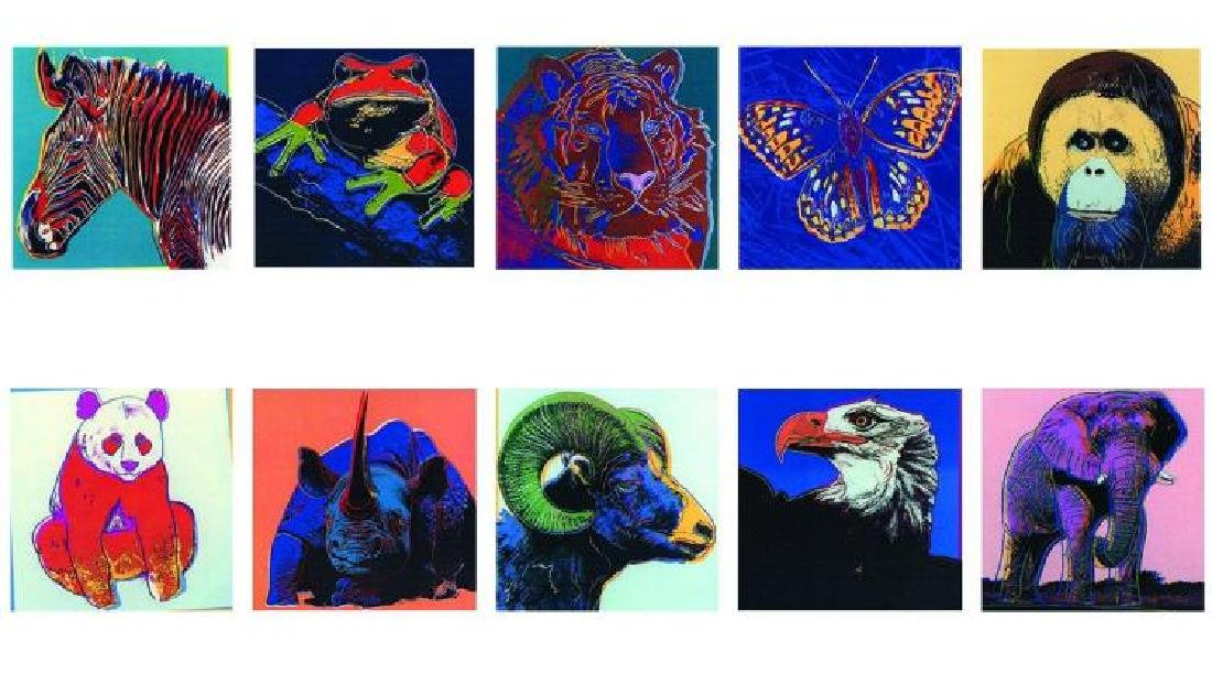 Warhol, Andy Endangered Species Announcement Cards