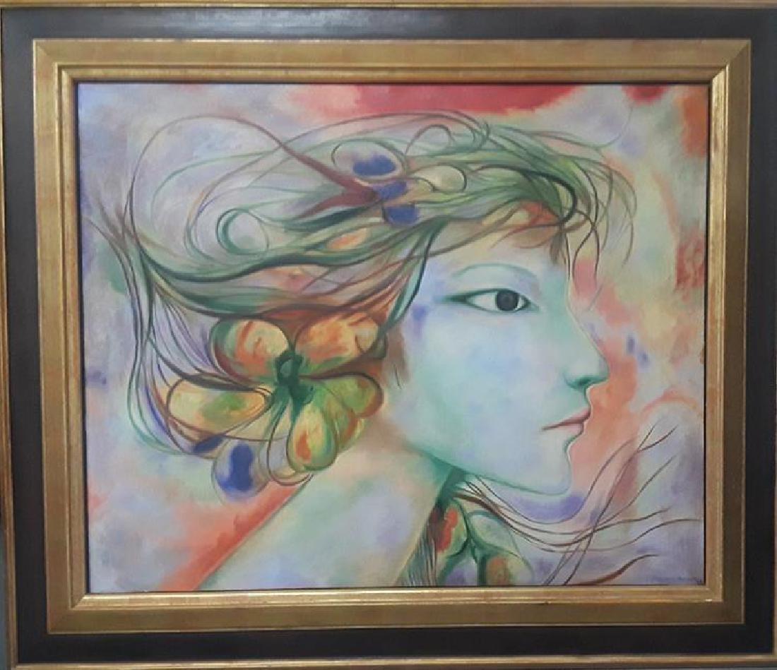 Cabrera Moreno Oil on Canvas 1977