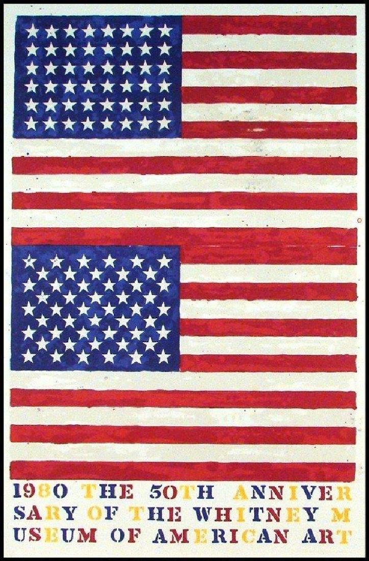 JASPER JOHNS The 50th Anniversary of the Whitney