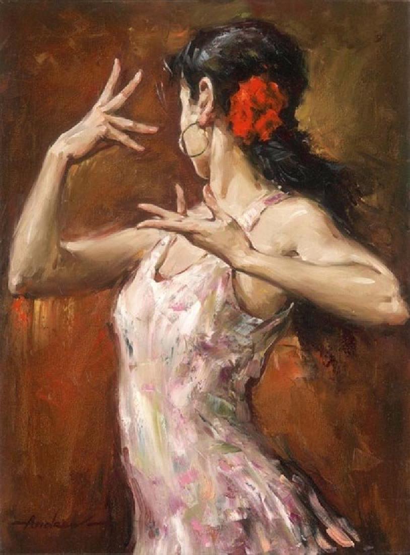 "Andrew Atroshenko ""Passionate"" SH/N Giclee embellished"