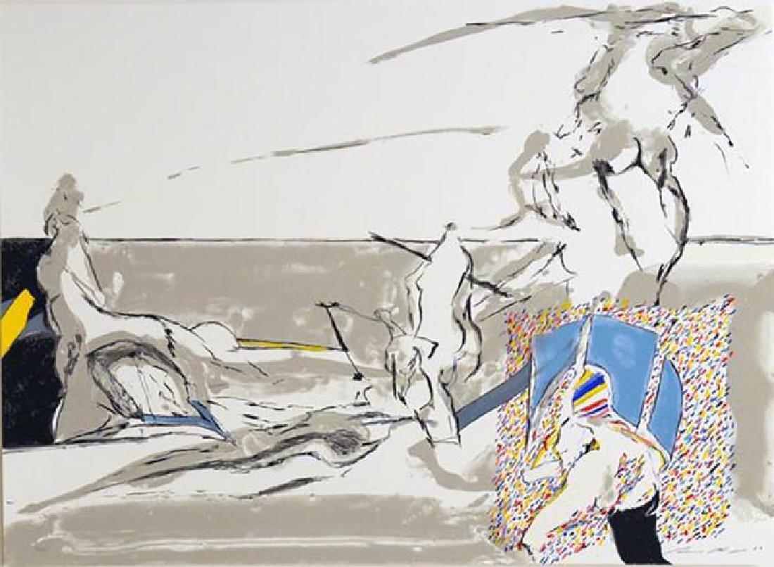 Werner Berges UNTITLED from Kinderstern Portfolio hand