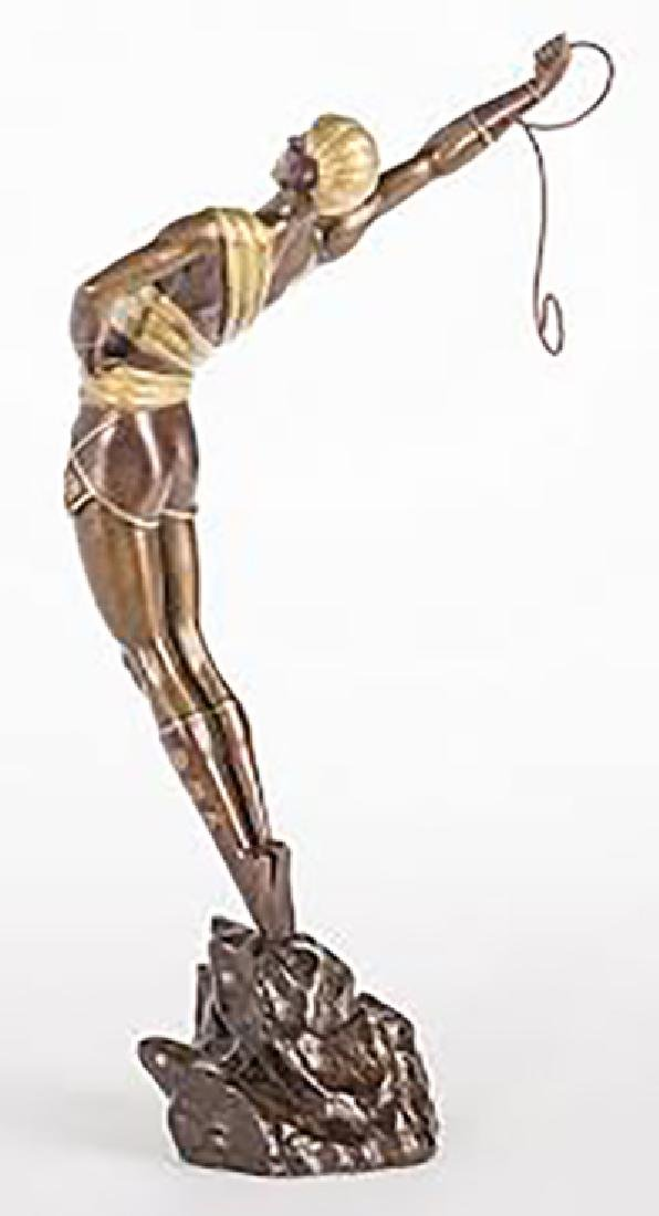 "Erte, ""Le Danseur, Bronze Sculpture Signed and numbered - 2"