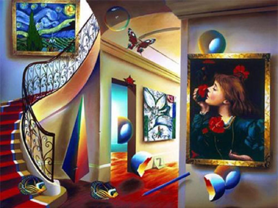 "Ferjo ""Timeless Beauty"" Grand Staircase Fine artwork"