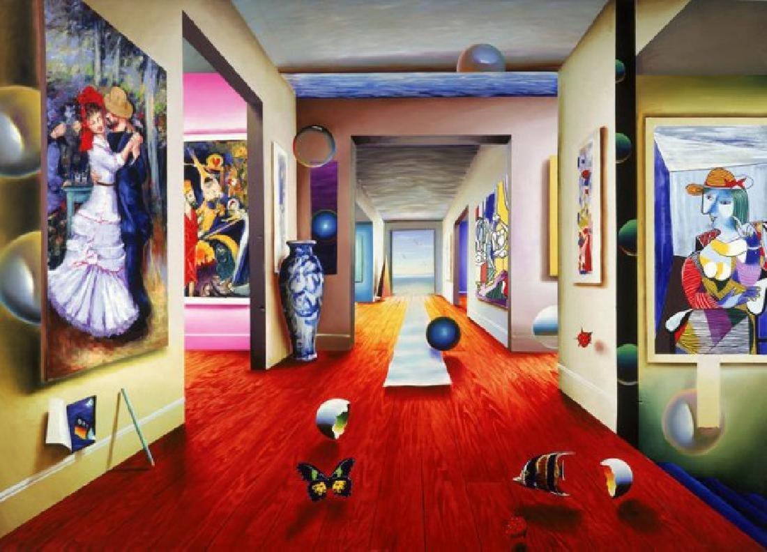 "Ferjo ""The Dance"" Giclee Canvas 38x29 HS/N"