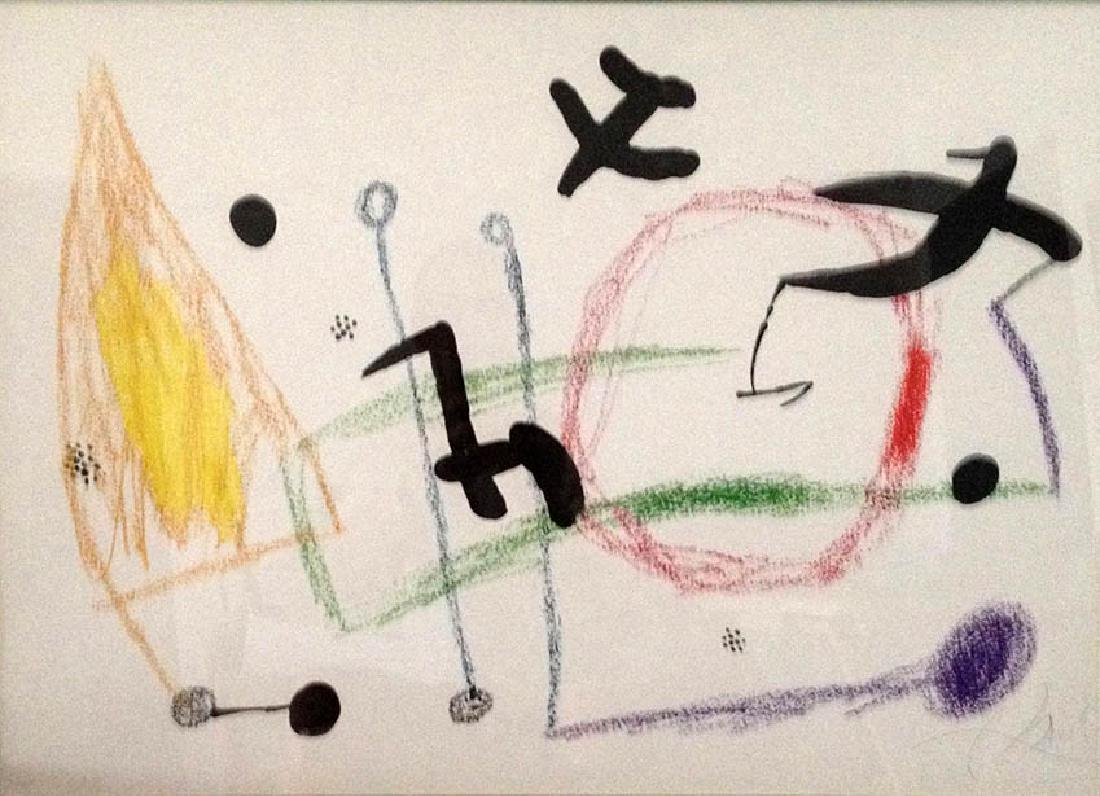 Miro – Maravillas, Lithograph, Hand signed and numbered