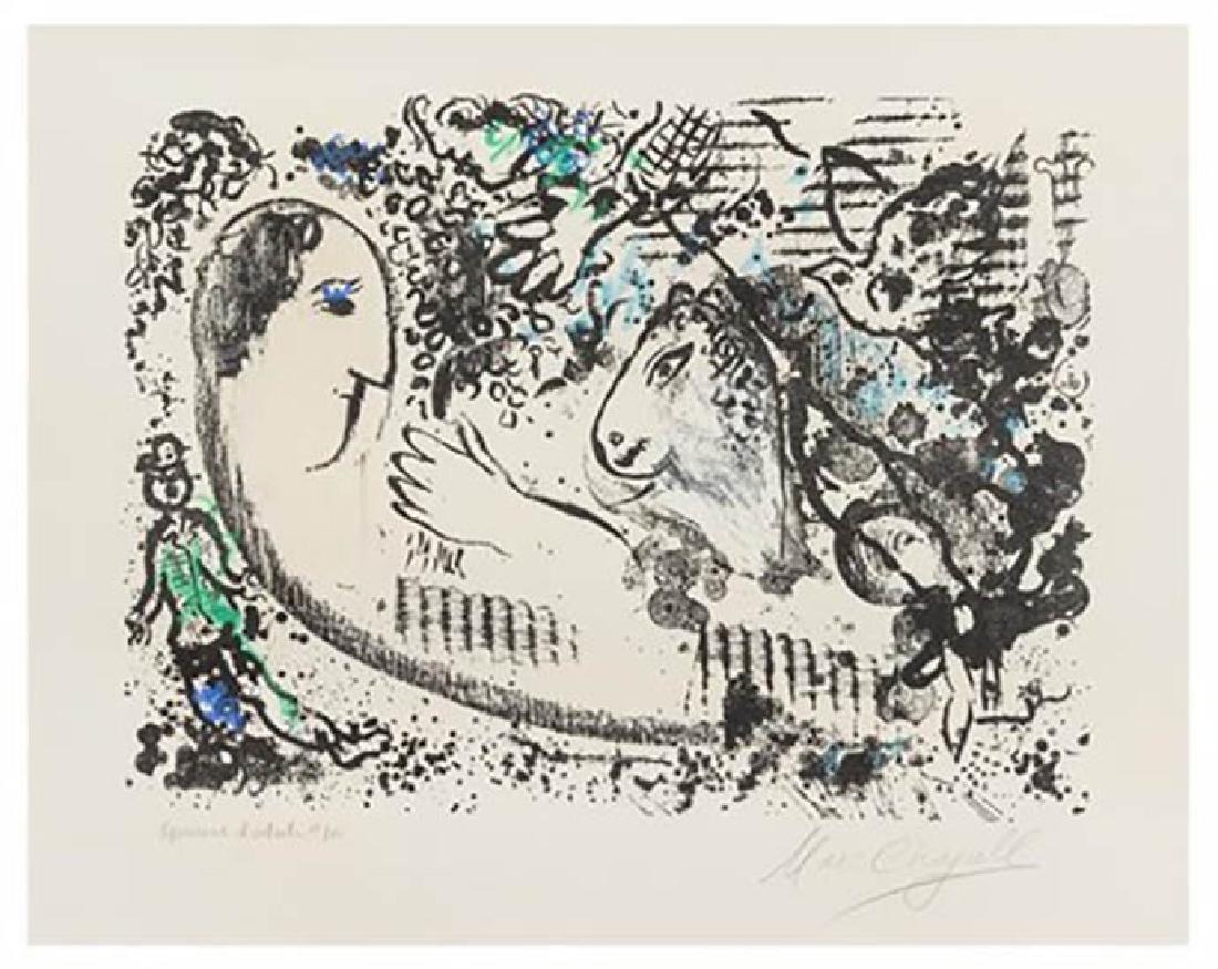 Marc Chagall, Reverie (M. 605). Original color