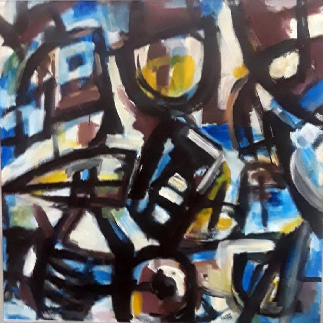 Guido LLINAS (1923-2005) Oil on Canvas 1977