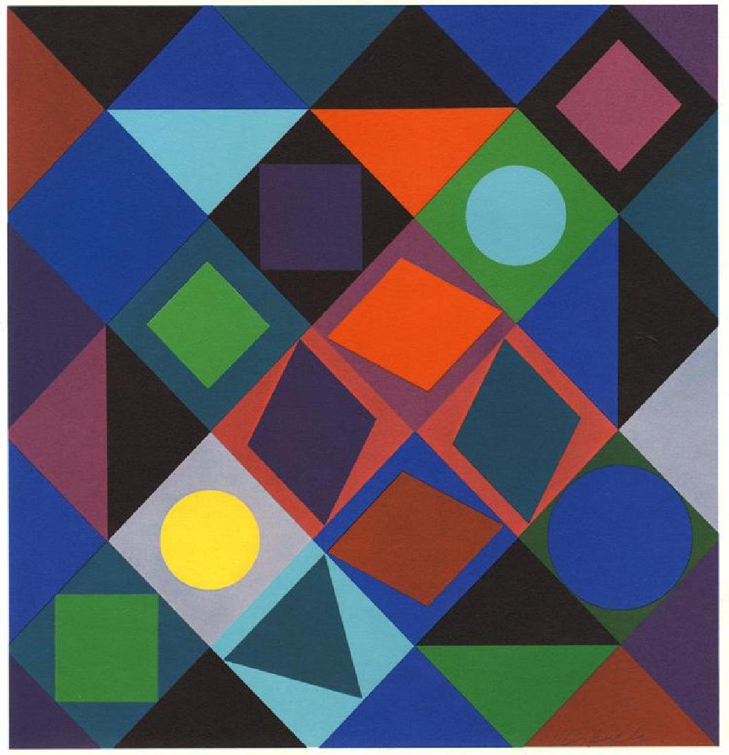 Victor Vasarely, From the Planetary Folklore