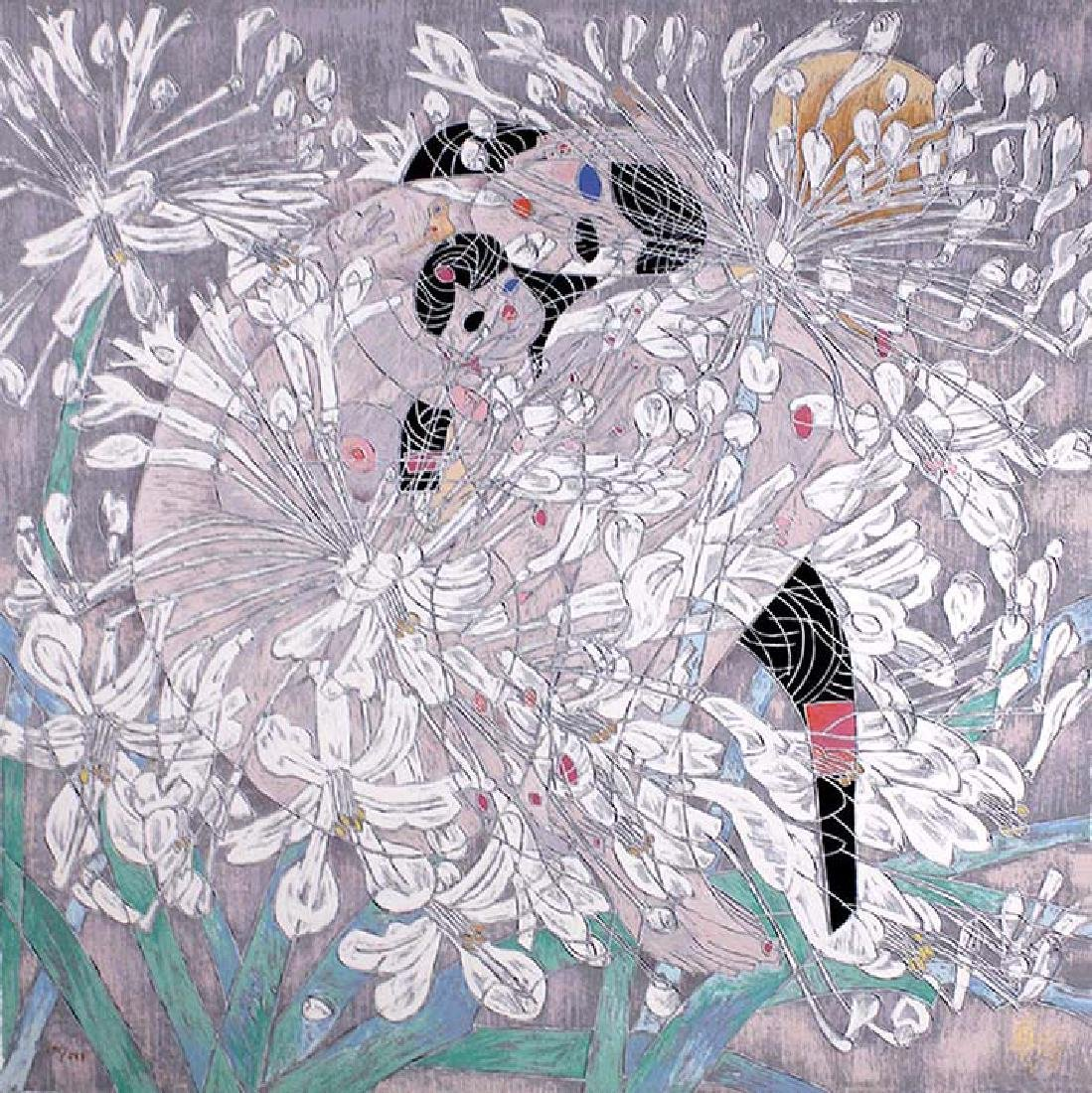 "Jiang Tiefeng, Flower Suite, ""Radiant Violet"" and"