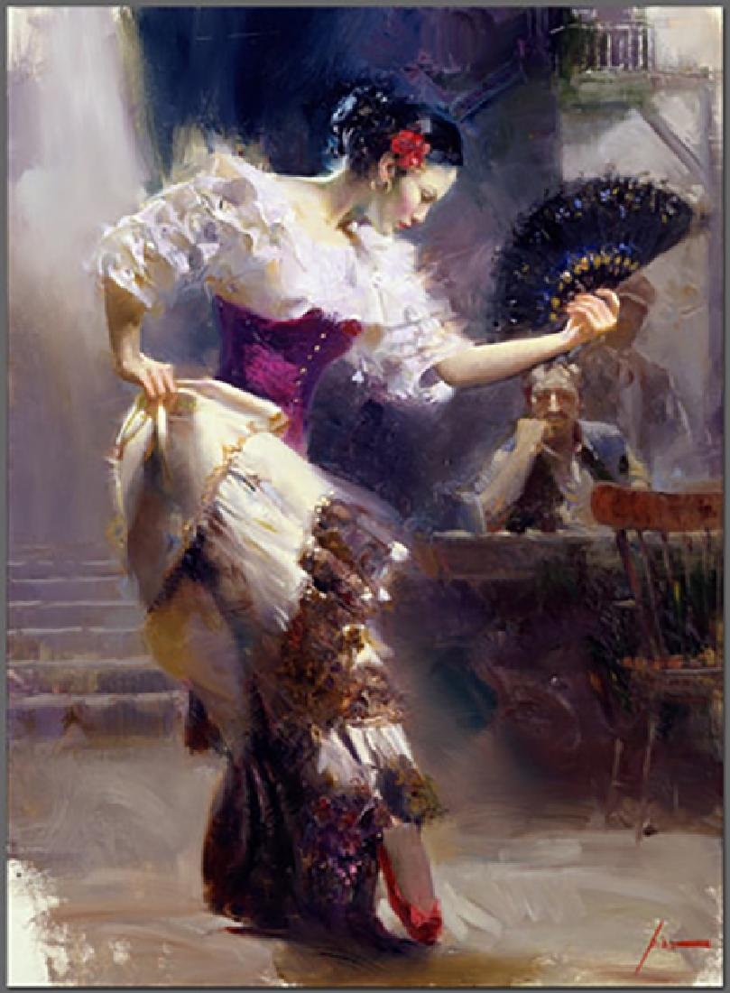 "Pino ""The Dancer"" Spanish Beautiful Dancer Embellished"