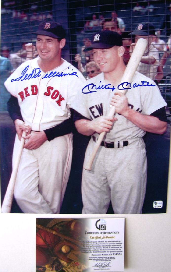 "memorabilia ""Game Day II""  Mickey Mantle & Ted Williams"