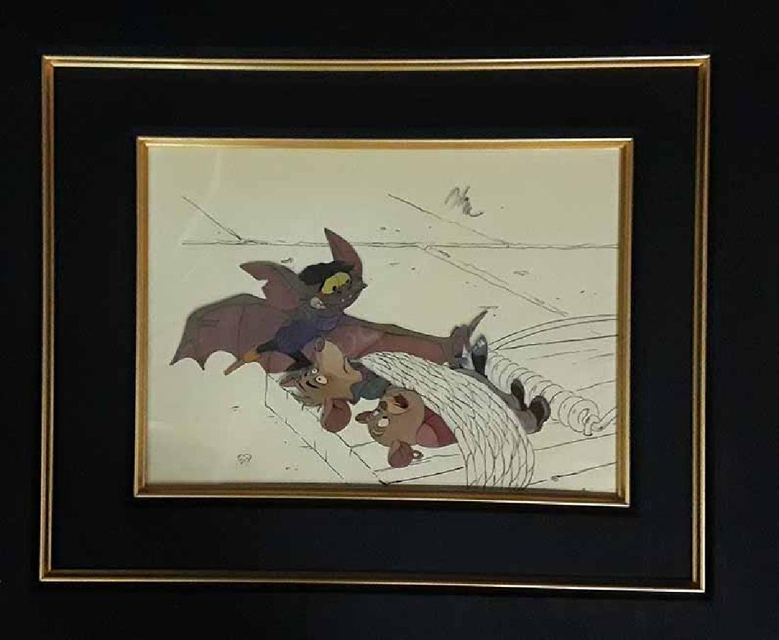 Disney THE GREAT MOUSE DETECTIVE Animation Cel 1986