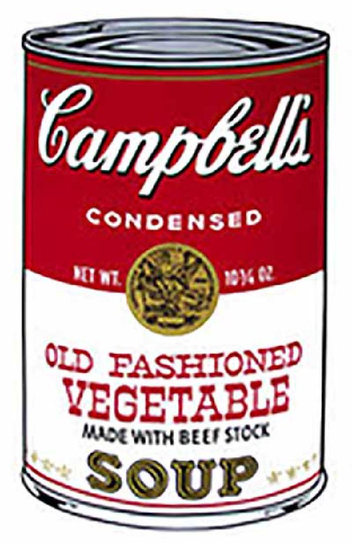 "ANDY WARHOL ""Campbell'S Soup II.1"" SERIGRAPH SUNDAY B."