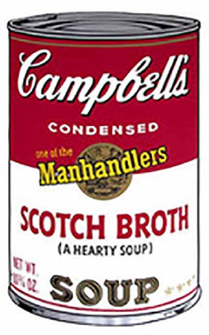"ANDY WARHOL ""Campbell'S Soup II.2"" SERIGRAPH SUNDAY B."