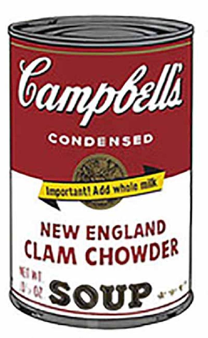 "ANDY WARHOL ""Campbell'S Soup II.4"" SERIGRAPH SUNDAY B."