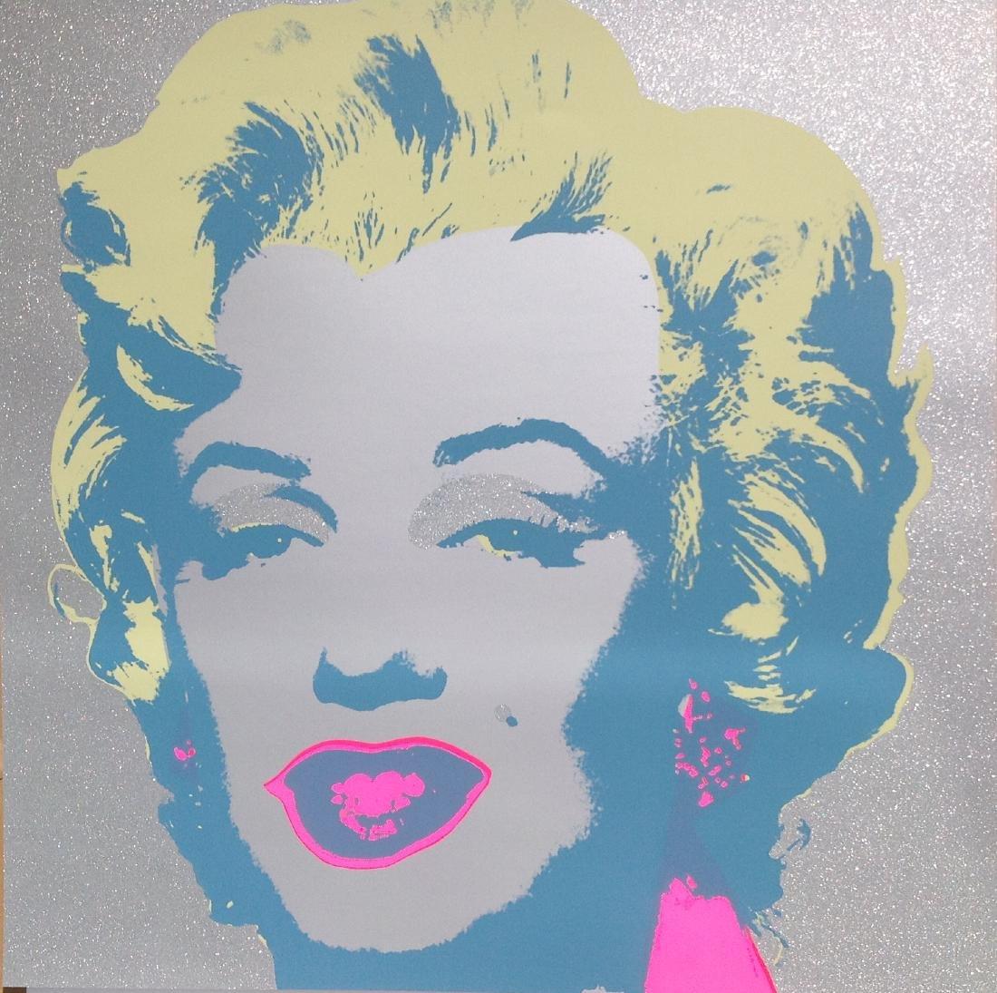 """Andy Warhol """"Diamond Dust Marilyn"""" Limited Edition"""