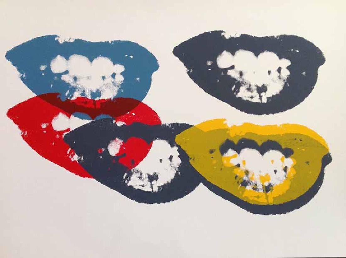 "Andy Warhol ""I Love Your Kiss Forever Forever"" Sunday"