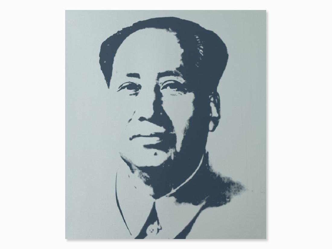 ANDY WARHOL MAO 2 SUNDAY B. MORNING SCREENPRINT
