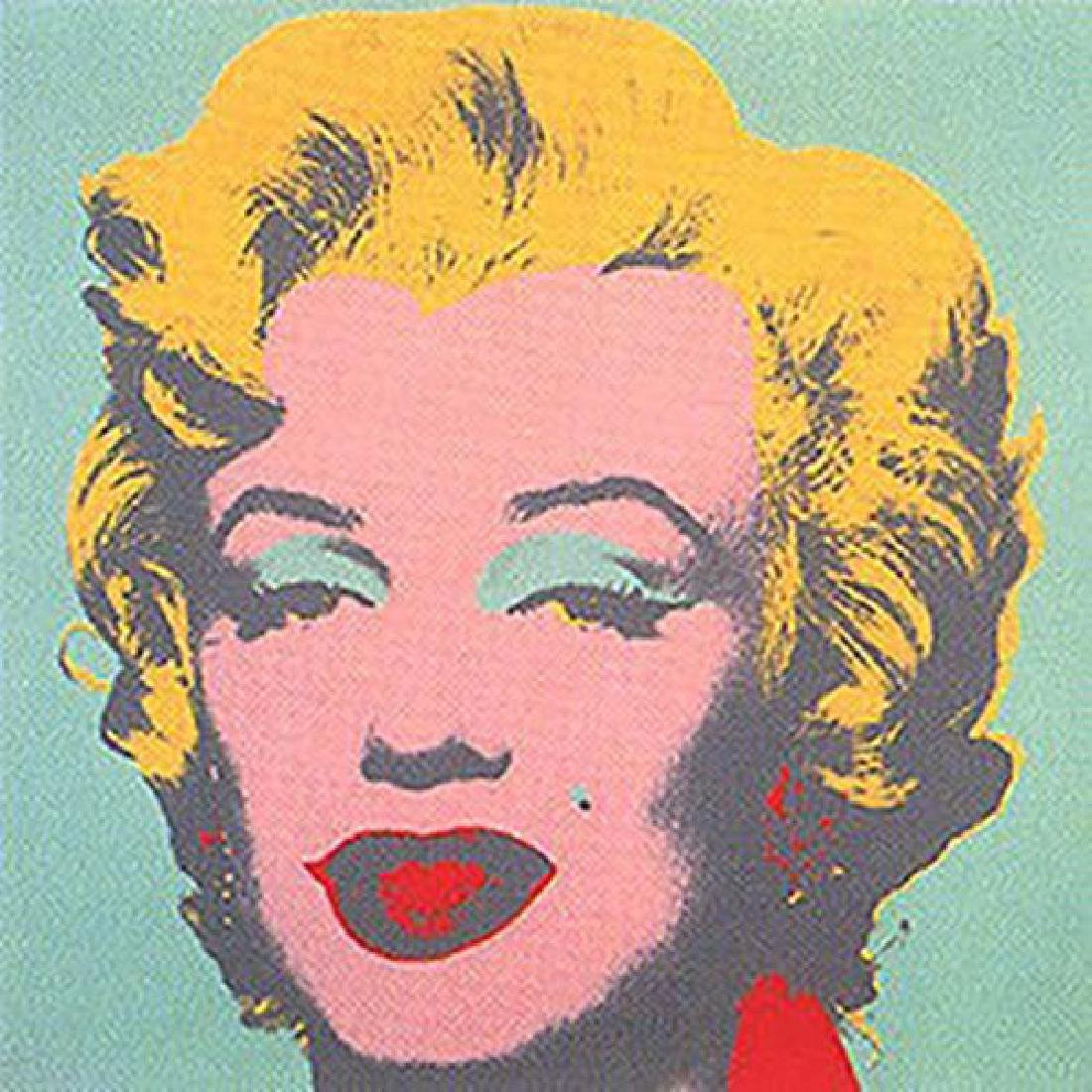 ANDY WARHOL MARILYN II.23 SUNDAY B. MORNING SCREENPRINT