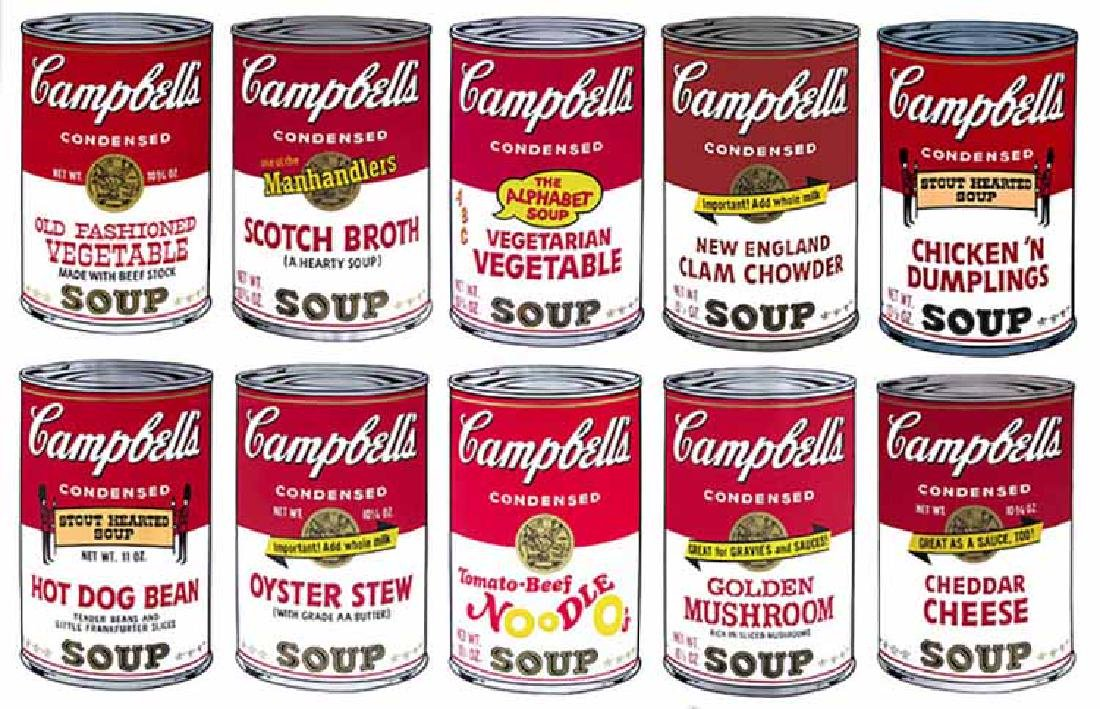 Andy Warhol Campbell Soup Sunday B Morning