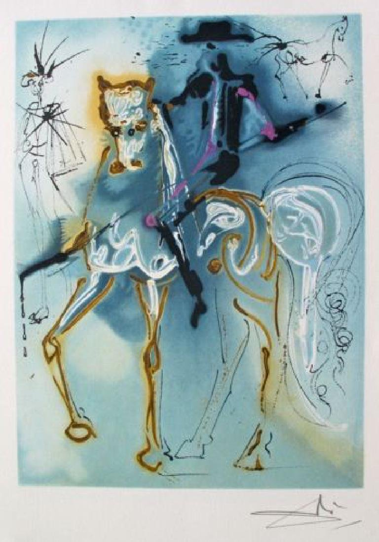 "Salvador Dali ""Le Picador"" Limited Ed. Lithograph"