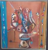 Jos Mara MIJARES Cuban 1921  2004 Oil on Canvas