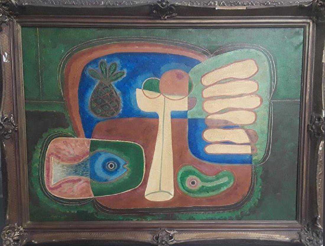 Mario Carreño (1913-1999) Oil On Canvas 1947
