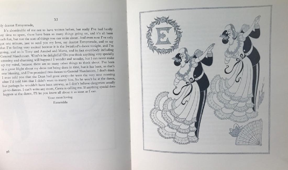 Erte Original Gouache Framed with signed book Rare - 3