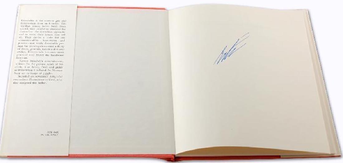 Erte Original Gouache Framed with signed book Rare - 4