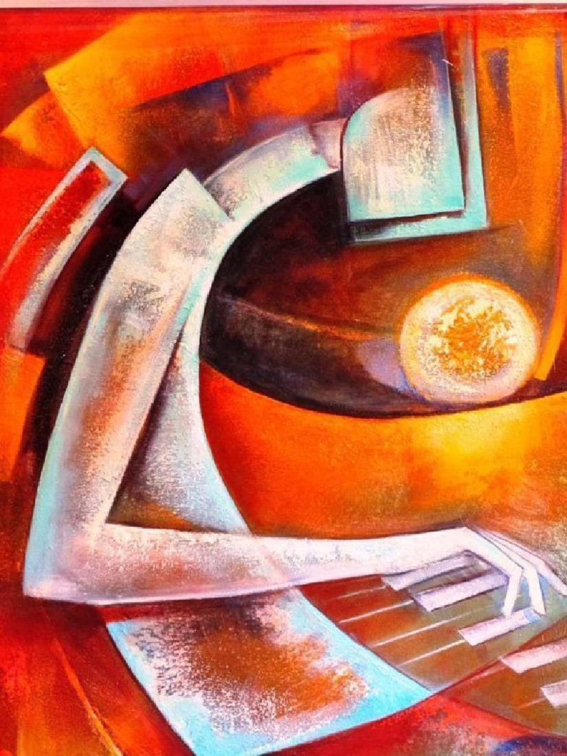 Juan Cotrino Sweet Melody Framed embellished giclee