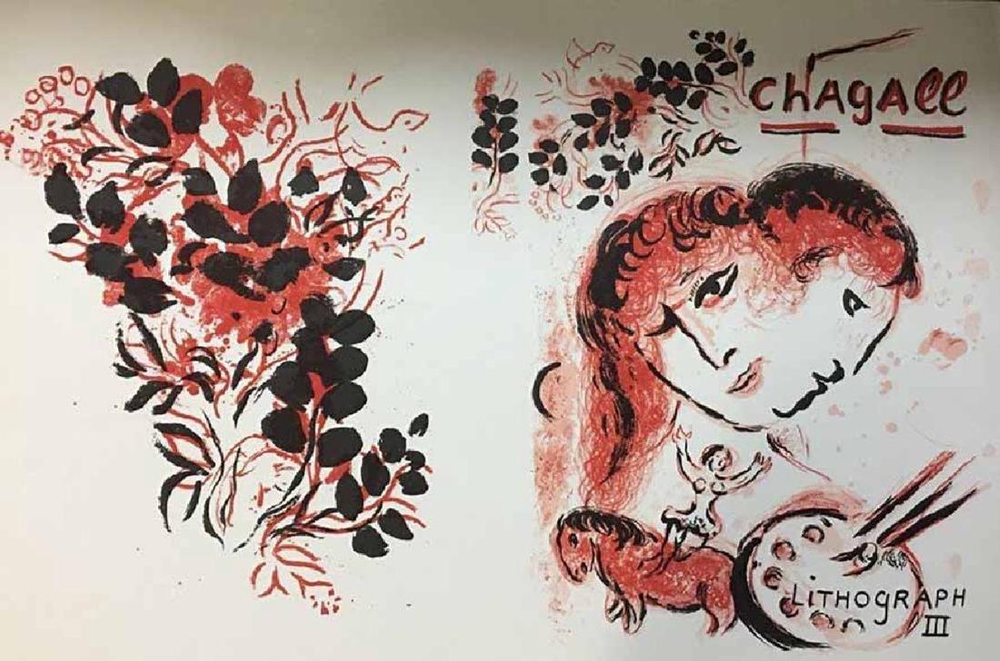 Chagall Rare Vintage Volume 3 Litho III litho