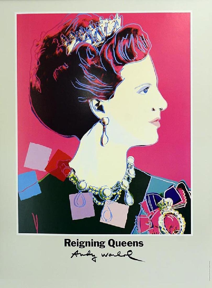 ANDY WARHOL Reigning Queens Queen Margrethe II of
