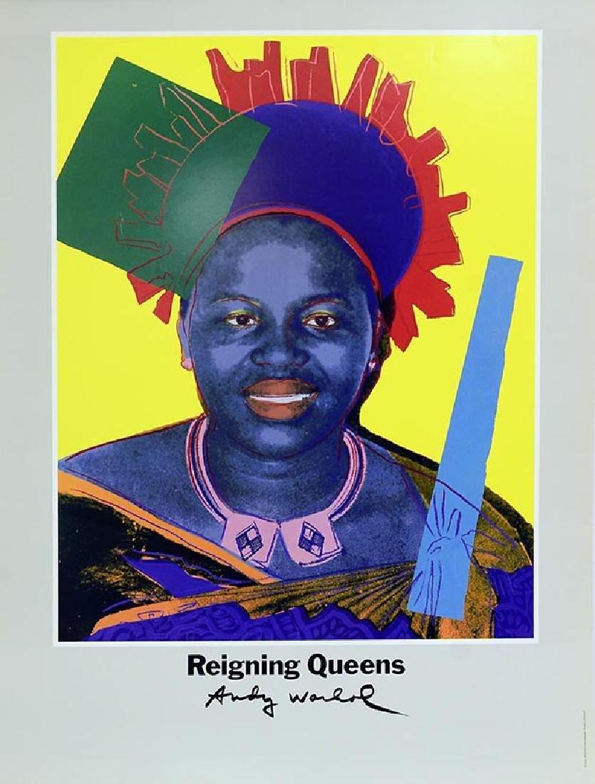 ANDY WARHOL Reigning Queens Queen Ntombi Twala Of