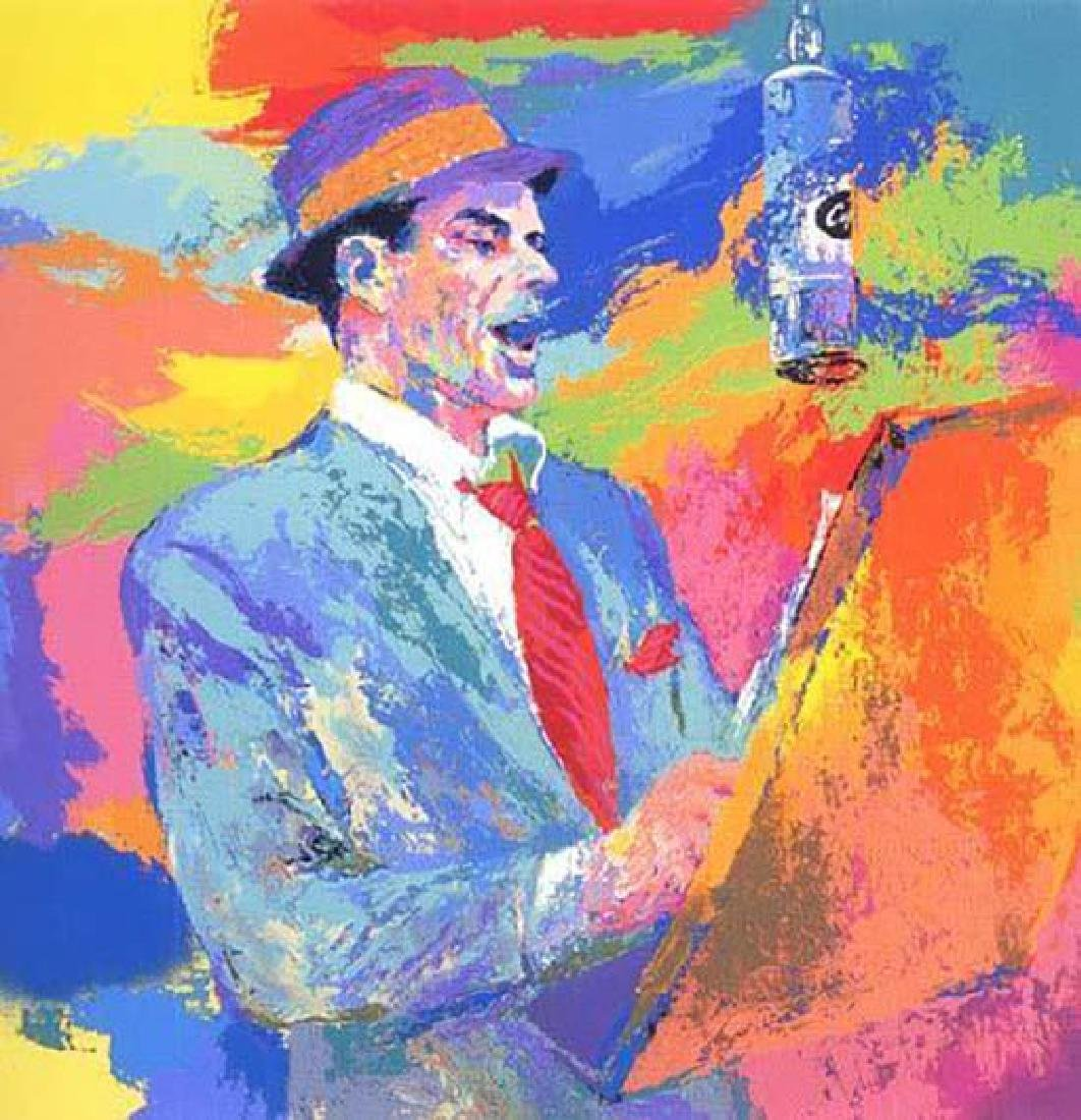 "Leroy Neiman ""Duets"" Famous Frank Sinatra Hand signed/#"