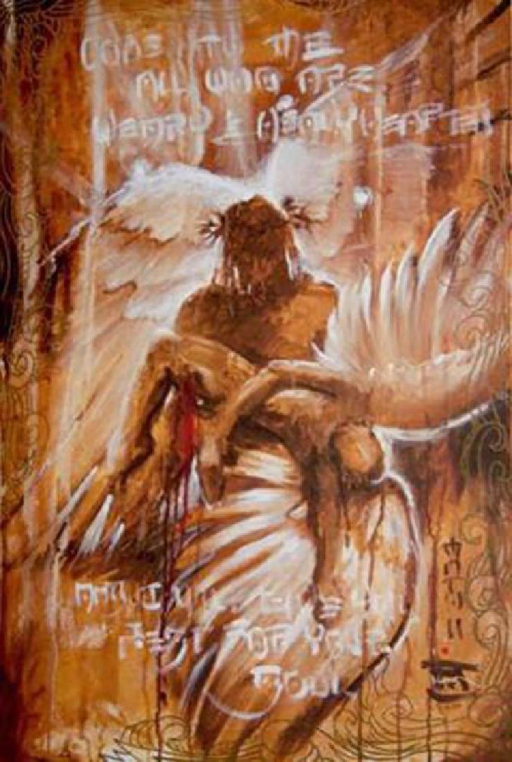 "NOAH ""Come to Me"" - GICLEE ON CANVAS HAND SIGNED/#"
