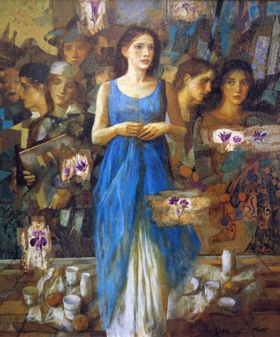 Alba by Goyo Dominguez - Giclee on Paper - People